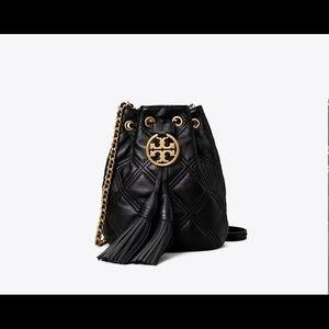 Tory Burch Fleming Soft Mini Bucket Bag